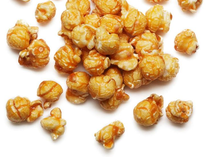 Caramel Corn recipe from Food Network Kitchen via Food Network