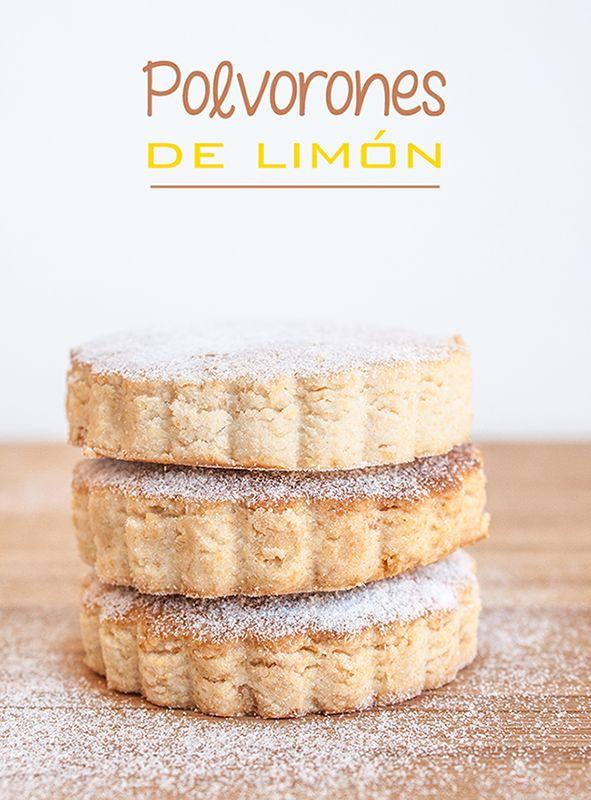 Polvorones de limón - El rincón de los postres