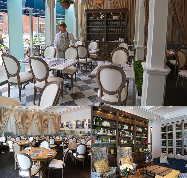 Colette Grand Cafe decor