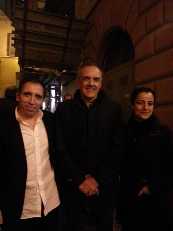Gran cinema al Tertio Millennio Film Fest con Mohsen Makhmalbaf (nella foto con sua moglie e Alberto Barbera)