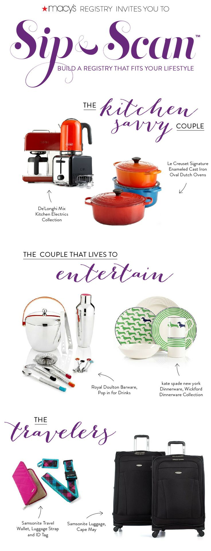 Macys Kitchen Appliances 24 Best Images About Macys Wedding Gift Registry On Pinterest