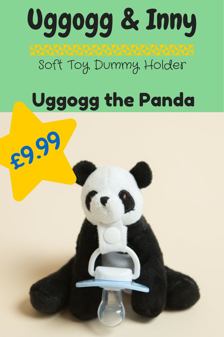 30 best dummy clipsspecial needs education resources images on uggogg the panda is a soft toy dummy holder and is the original member of fandeluxe Gallery