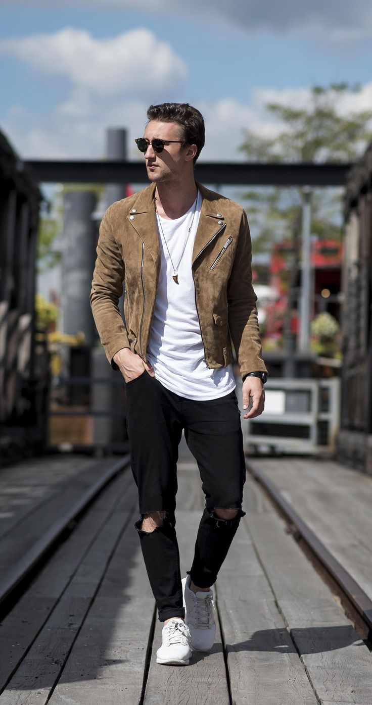 The 25 Best Male Style Ideas On Pinterest Brown Leather Jacket Men Man Style And Guy Style
