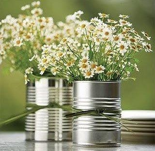 Inspirações para você reutilizar as latinhas de leite e criar decorações lindas para a festinha do (a) filhote (a)