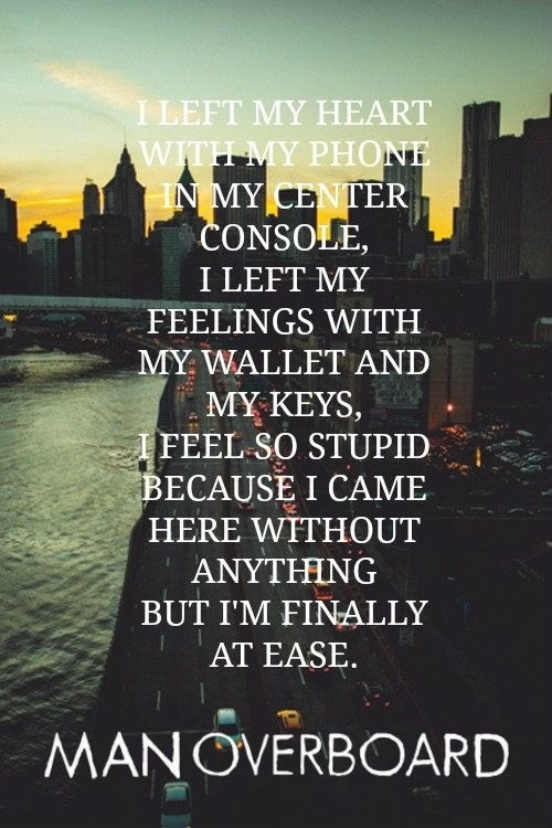 Man Overboard Lyrics 30 best Man Overboard ...