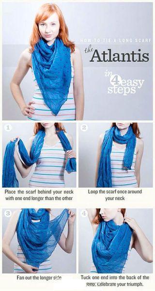 Atlantis scarf