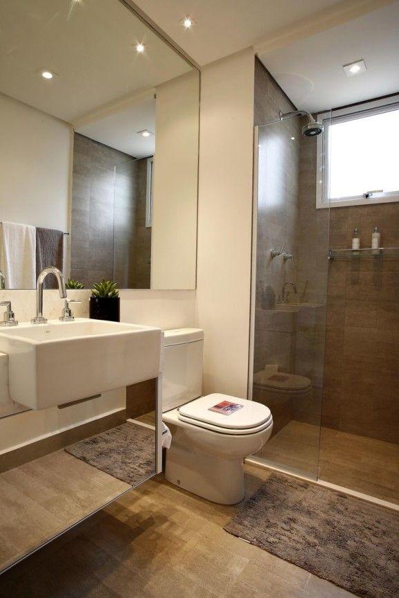 25+ melhores ideias sobre Piso De Banheiro De Madeira no Pinterest  Banheiro -> Banheiro Moderno Madeira