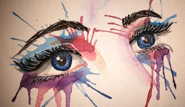 Watercolour eyes by dkb333 See the making of on youtube https://youtu.be/jsUe55ktp8I