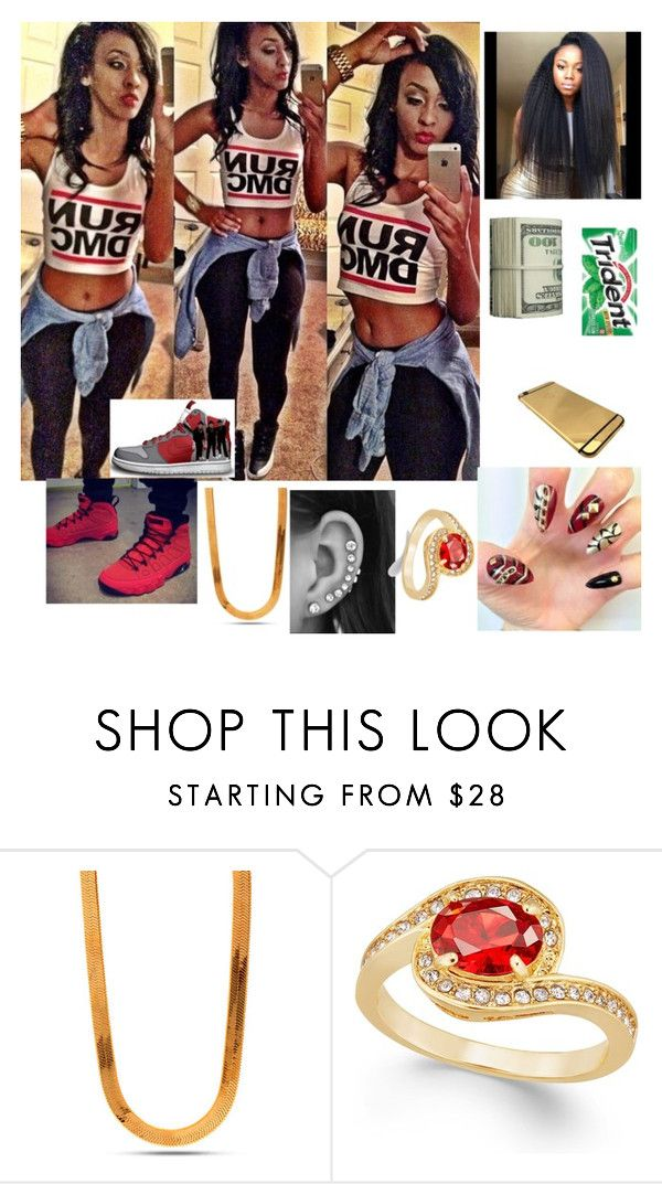 """""""who's house ?"""" by kennedyisme ❤ liked on Polyvore featuring mode, King Ice en Charter Club"""