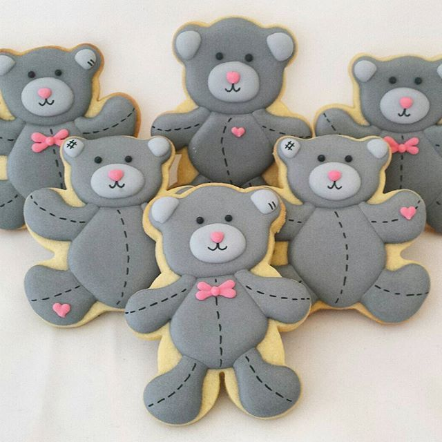1000+ ideas about Bear Cookies on Pinterest | Cookies, Cat ...