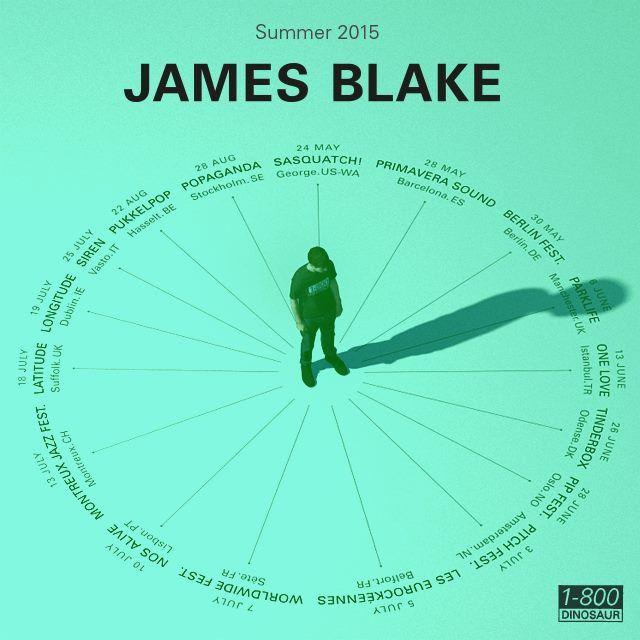 James Blake - Summer 2015 Tour
