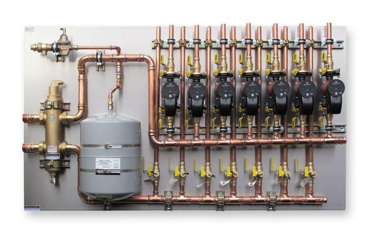 Radiant Floor Heating Pex Piping Infloor Heat Blueridge Company Radiant Floor Heating Radiant Floor
