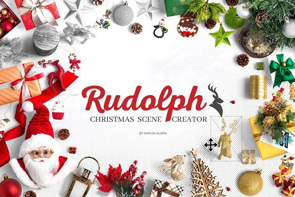 Rudolph Christmas Scene Creator by Carlos Viloria on