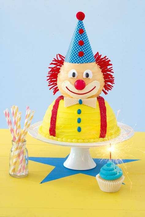 Cutest Clown -Cake How To...