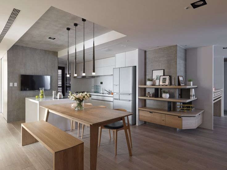 This collection of minimalist Asian interior inspiration, which comes to us courtesy of Fertility Design, features rooms from four separate home designs that wh
