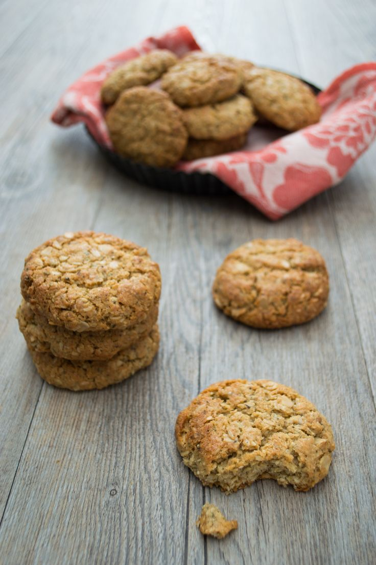Amazing Anzac - This is my take on an Anzac biscuit - simple to make, full of nutrition and a perfect nut-free lunchbox  filler. Suitable for nut-free, egg-free, gluten-free, dairy-free, wheat-free.