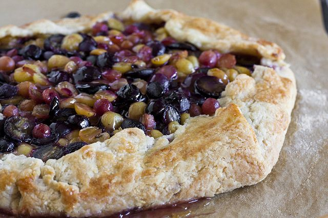 Grape and Lavender Galette | Summer Feasts | Pinterest