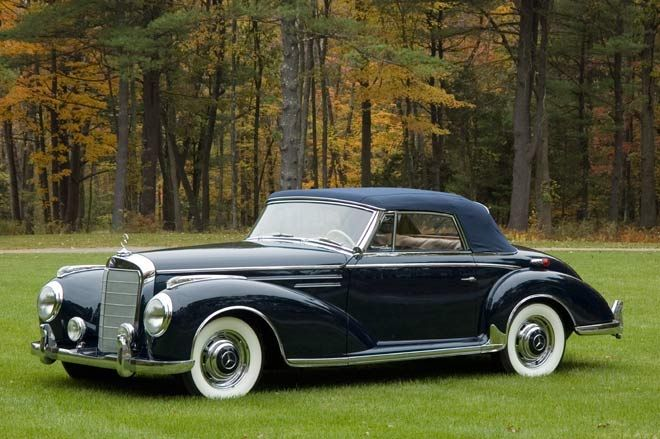 German cars after 1945 1957 mercedes 300 s cabrio www for 1946 mercedes benz