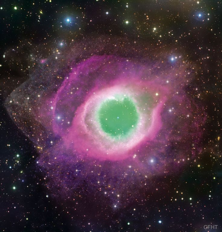 The Helix Nebula from CFHT #space