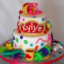 1000+ images about Playdough/Crayola Themed Cake Ideas on ...