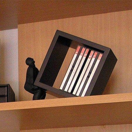 Macho Man CD Holder $40Accent Ideas, Comics Book, Home Accessories, Book Holders, Book Room, Cd Holders, Man Cd, Convers Piece, Macho Man