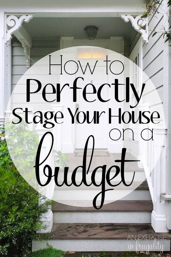 How to Stage Your House on a Budget. Yes it's possible! I staged our house for less than $70 using mostly stuff we already had and we sold it on DAY THREE of being listed with multiple full-price offers! It's not as scary as you think to DIY your home staging.      realtor | for sale | first time homeowner | staging |real estate