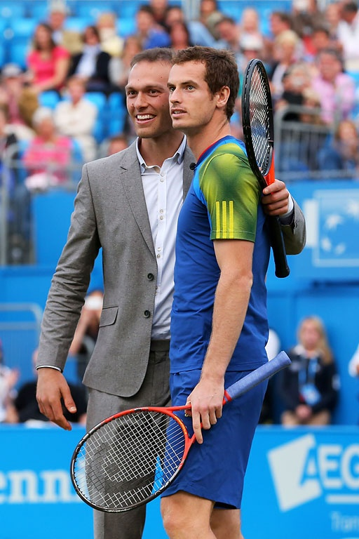 Queen´s 2013, Andy Murray y Ross Hutchins