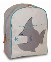 These whimsical backpacks for kids from two to five come adorned with a collection of ten different animals, one of which is bound to take your tot's fancy. Your junior surfer may be drawn to Nigel the Shark; woodland lovers will covet Jean-Pierre, a sassy squirrel; and we predict that Esther the Bunny will be an Easter hit. We love it that most of the packs have unisex appeal with nary a princess or truck in sight.
