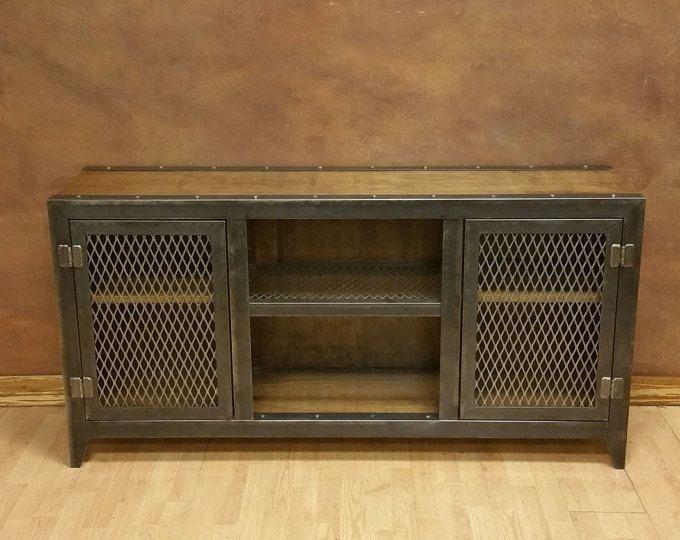Le millésime - Console industrielle armoire #002S • meubles Style industriel par industriel évolution Furniture Co.