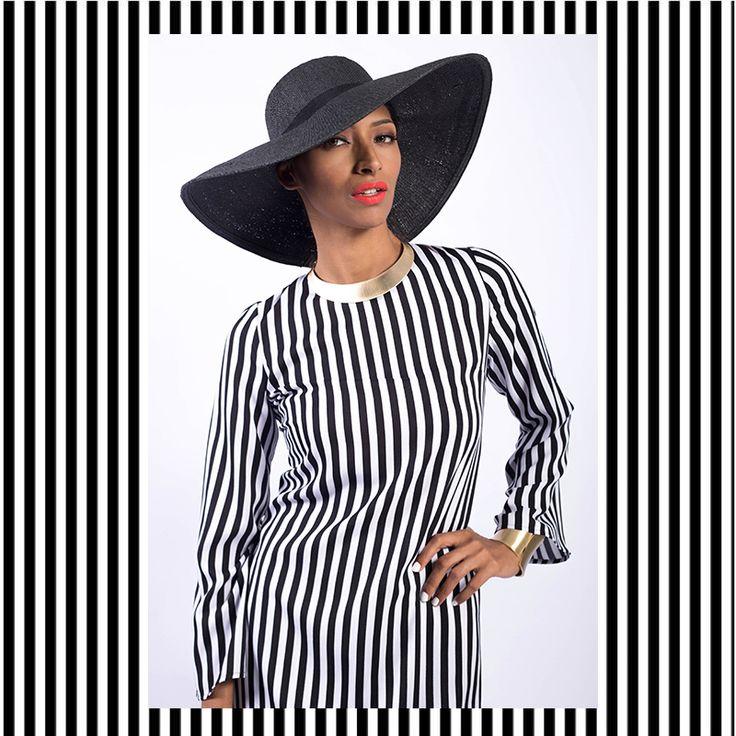 EID 2016 Hijab style chic modest fashion modest dressing modest style modest chic Hijab Muslimah FvRaya2016 Raya Lebaran kurung Sydney Australia Kuala Lumpur Black and White Stripes