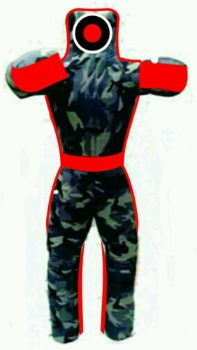 Grappling boxing #dummy jiu #jitsu judo, 6 ft camo red all #custom size available,  View more on the LINK: 	http://www.zeppy.io/product/gb/2/162315539424/