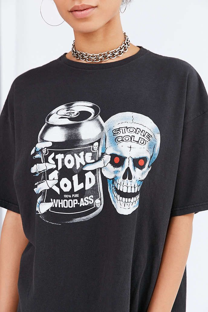 Junk Food Stone Cold Steve Austin Tee - Urban Outfitters