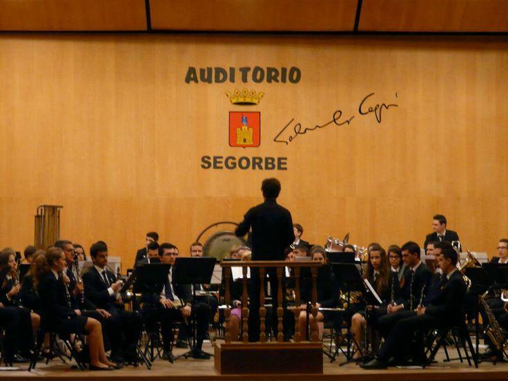 La SM de Segorbe estrena una obra de Luis Miguel Marín Chover en el concierto del socio