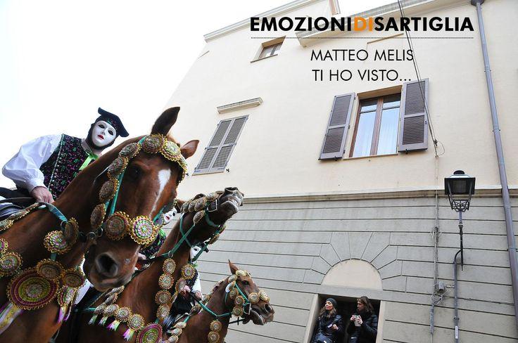 Ti ho visto.. - Matteo Melis #sartiglia #emozionidisartiglia #oristano