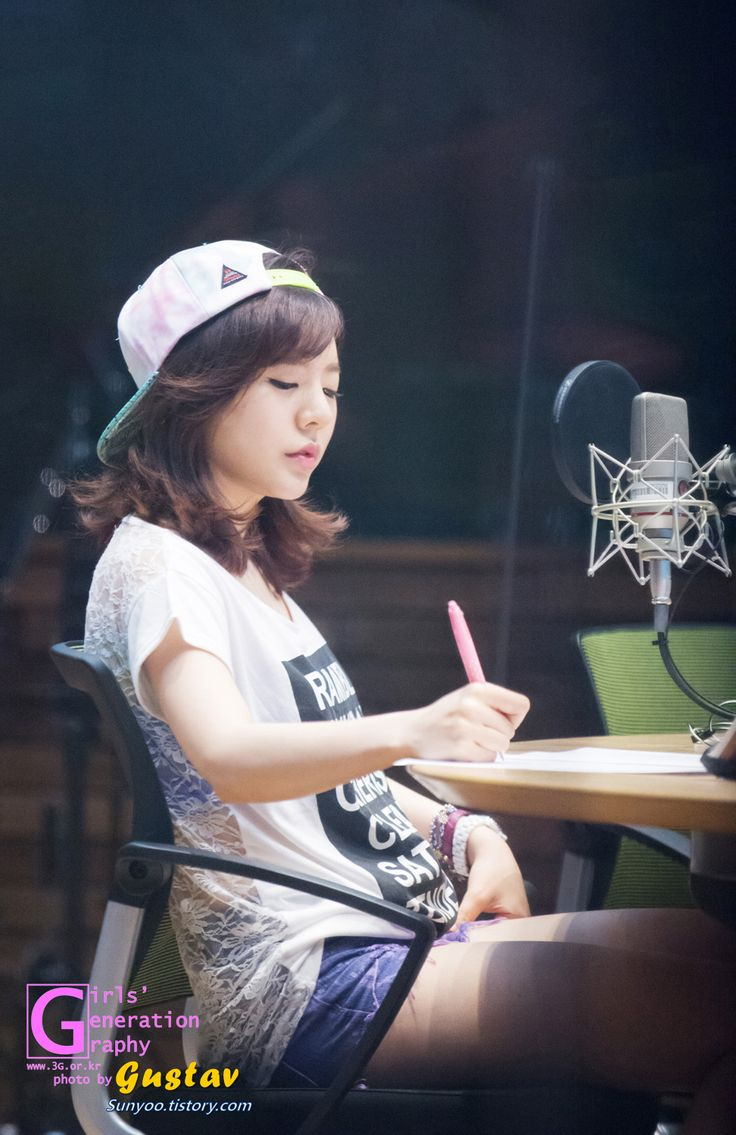 SNSD Sunny @ FM Date Open Studio