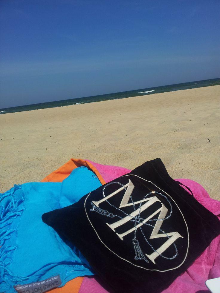 Maison Madlene on the beach
