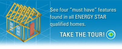 How does a new home get rated as an ENERGY STAR home?