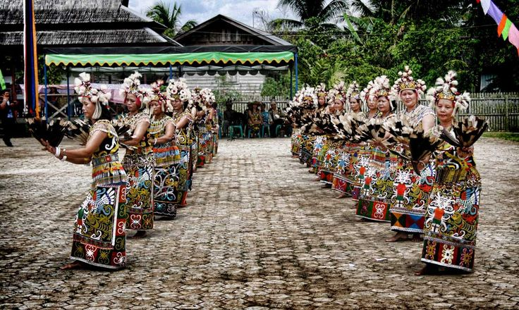 Keunikan Kampung Dayak Kenyah Pampang Samarinda | Ragam Budaya Indonesia - Artikel Kebudayaan Indonesia - Seni Budaya Indonesia