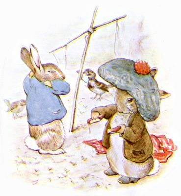 Beatrix Potter - Helped create children's book illustration as we know it. Combined human and animal elements realistically to provide a plausible fantasy world for her readers.