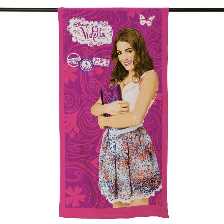 La beniamina di tutte le bambine appassionate di danza e canto, Violetta! Scopri il telo mare di Violetta, il regalo ideale per la tua bambina. Scoprilo su http://www.carillobiancheria.it/telo-mare-disney-violetta-in-morbida-spugna-100-cotone-colore-fucsia-l285.html