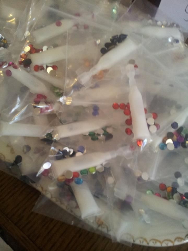 we now sell face gems :) £2 a bag with glue included!