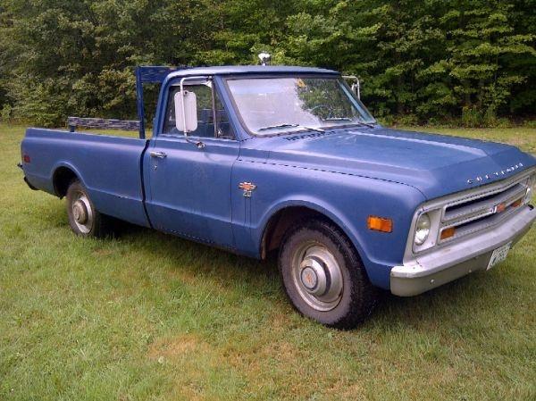 1968 Chevy Impalla Maintenance Restoration Of Old Vintage: 1968 Chevrolet Truck C20 Maintenance/restoration Of Old