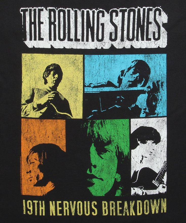 Rolling Stones 19th Nervous Breakdown T-Shirt