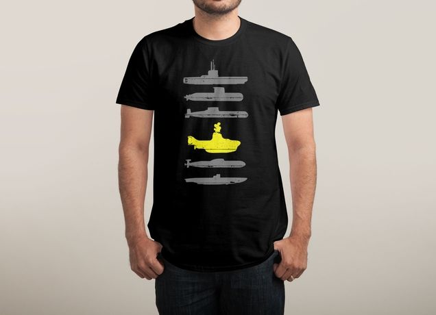 """Know Your Submarines"" by Resistance on men's t-shirts 
