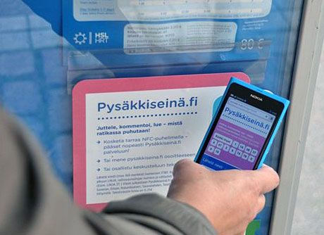 Helsinki gets NFC tram stops