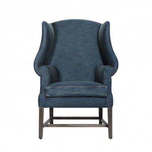 Modern Denim Chair