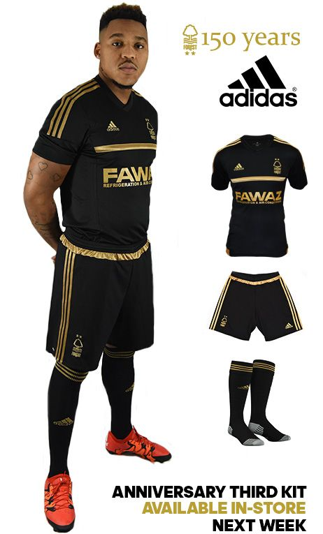 Nottingham Forest 15-16 Third Kit Released - Footy Headlines