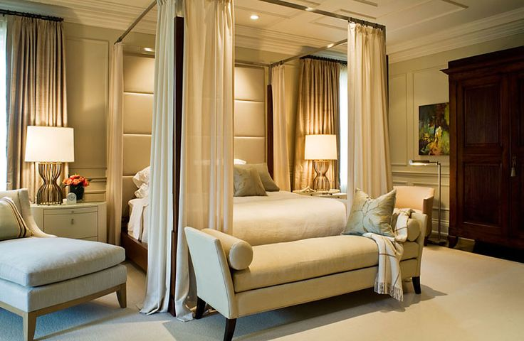 25+ Best Ideas About Canopy Bed Curtains On Pinterest