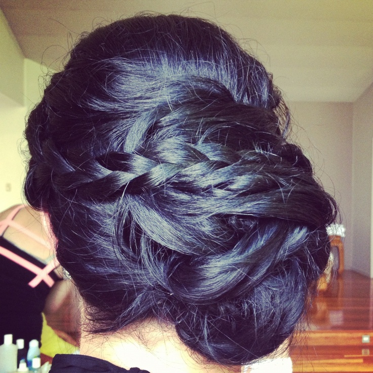 Upstyle by Kristy from Miss Bliss Hair Boutique. Gold Coast. www.missblissonline.com.au