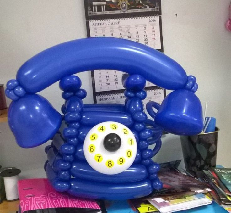 TELEPHONE BALLOON ART